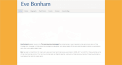 Preview of evebonham.co.uk